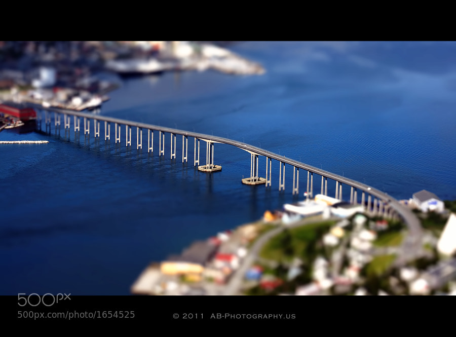 Photograph Tromsø Bridge - TS by Alexandra (Petrova) & Bharath Wootla on 500px
