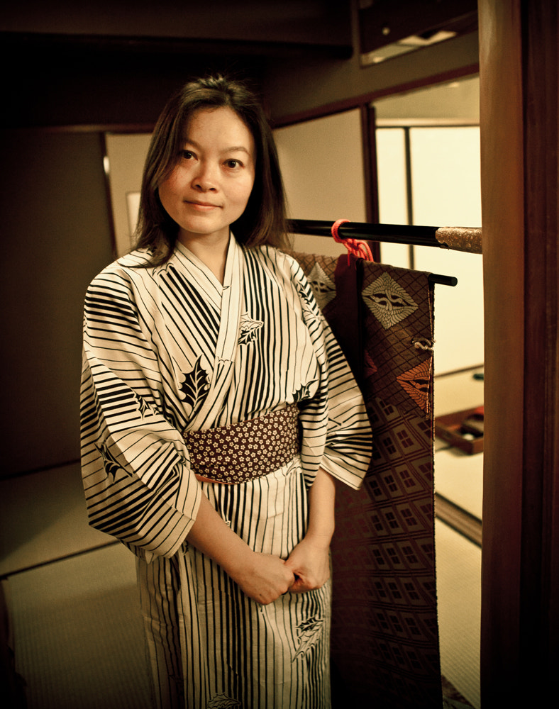 Photograph Japan - Ryokan Dress by John Enricco on 500px