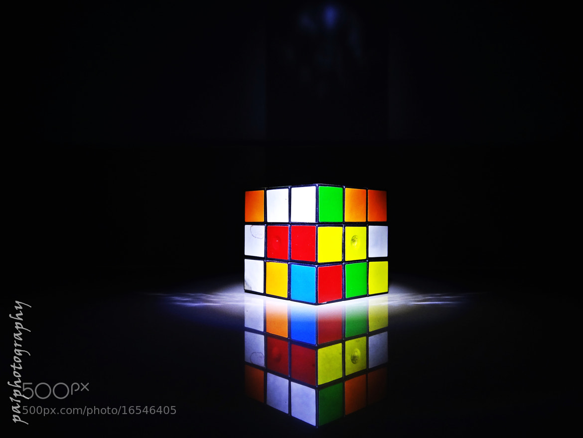 Photograph Life is like a Rubik's cube...sometimes ya gotta mess it up to make it better. by Pavan Prabhudev Mane on 500px