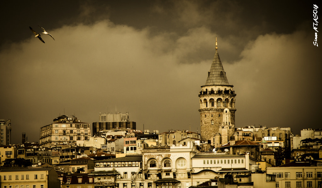 Photograph Galata Tower by Sinan Atasoy on 500px