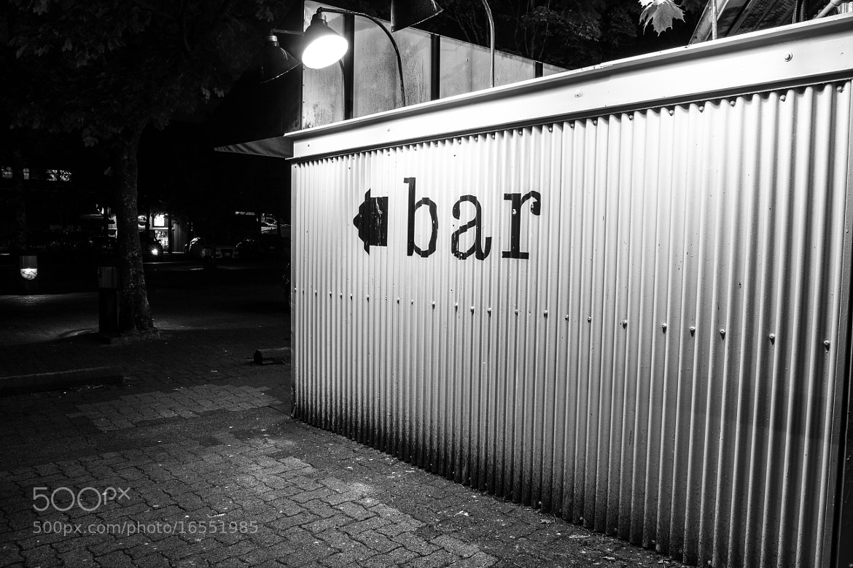 Photograph Bar by Darcey Millar on 500px
