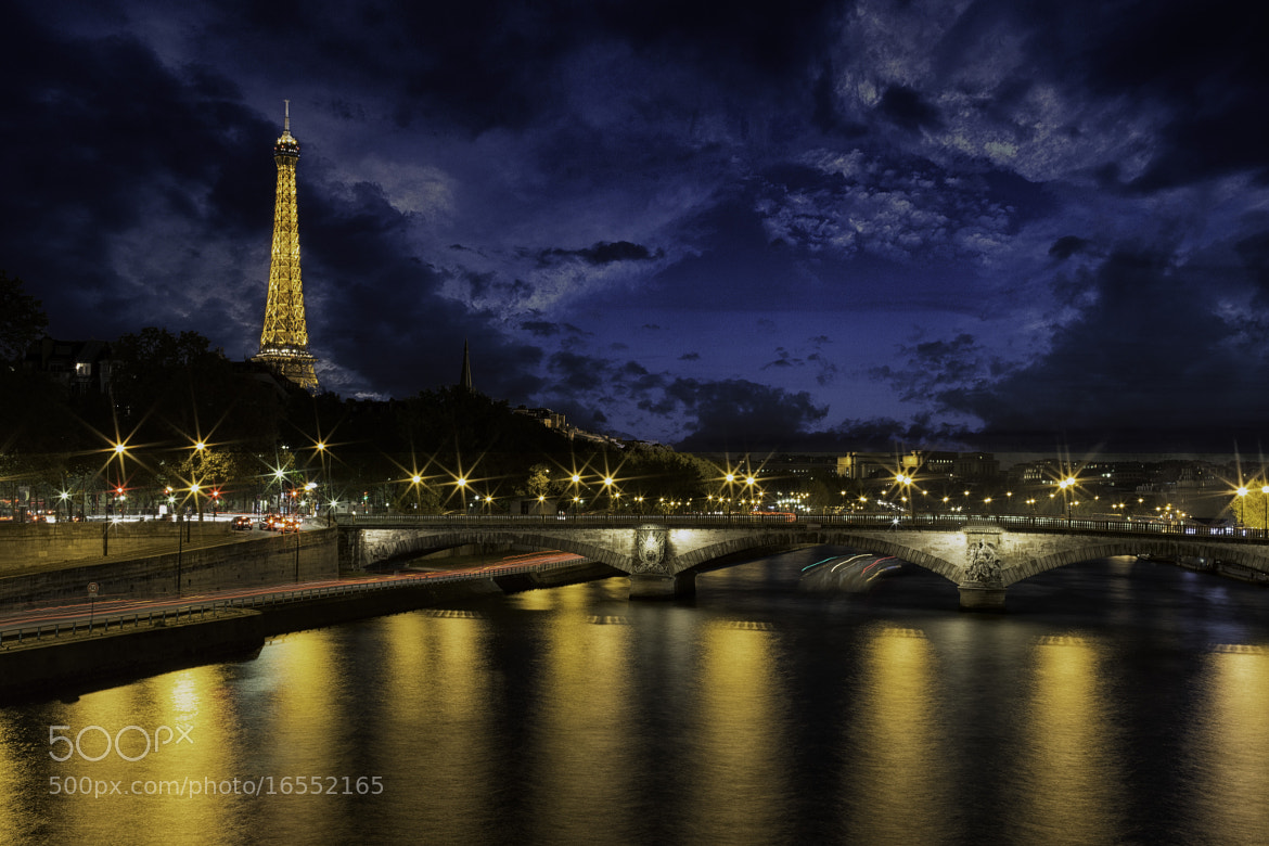 Photograph Paris at night by Abba Shapiro on 500px