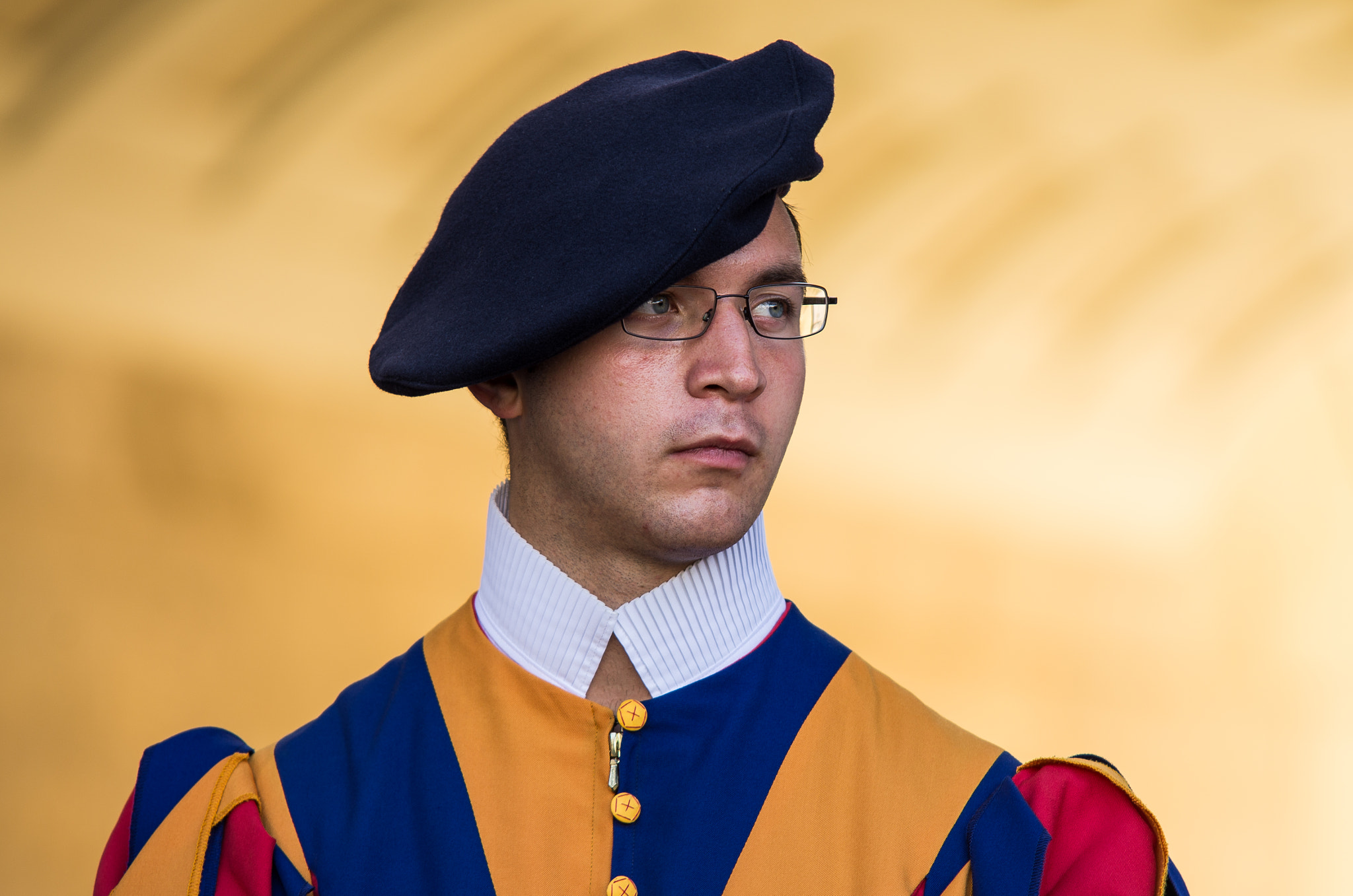 Photograph Swiss Guard in the Vatican by Teus Renes on 500px
