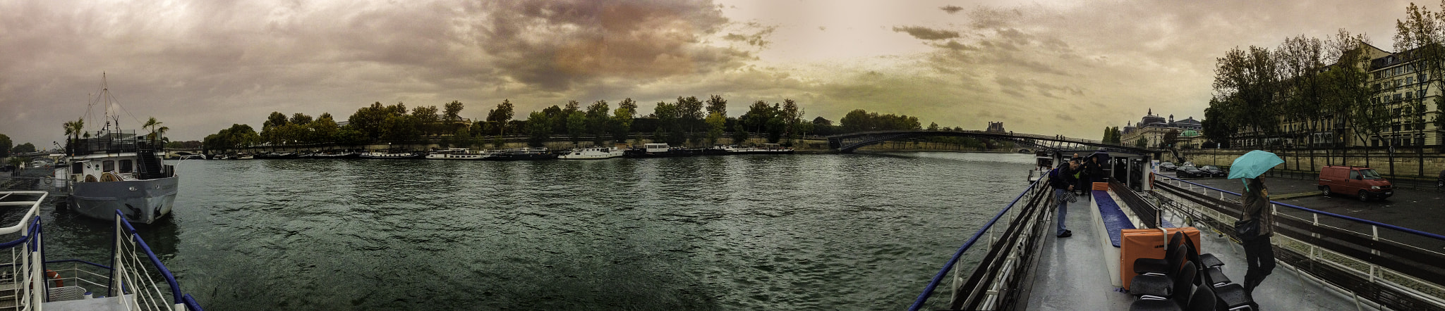Photograph The Seine - Panorama by Abba Shapiro on 500px