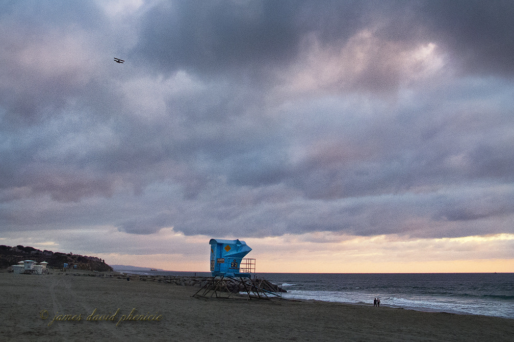 Photograph Guard Tower Series:  #22 and bi-plane by James David Phenicie on 500px