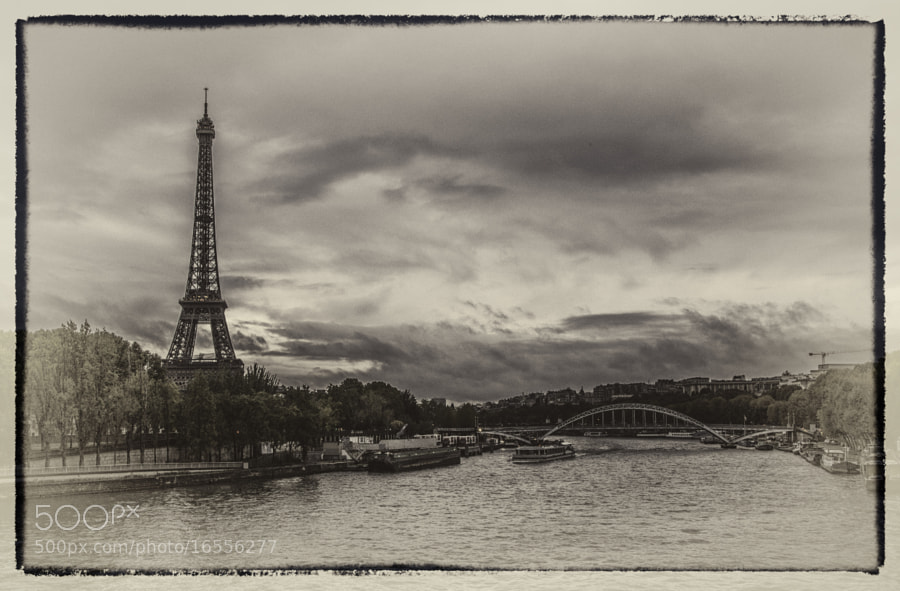 Photograph Paris Poastcard by Abba Shapiro on 500px