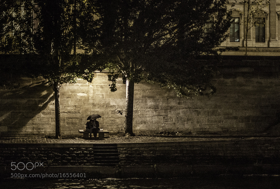 Romance along the Seine