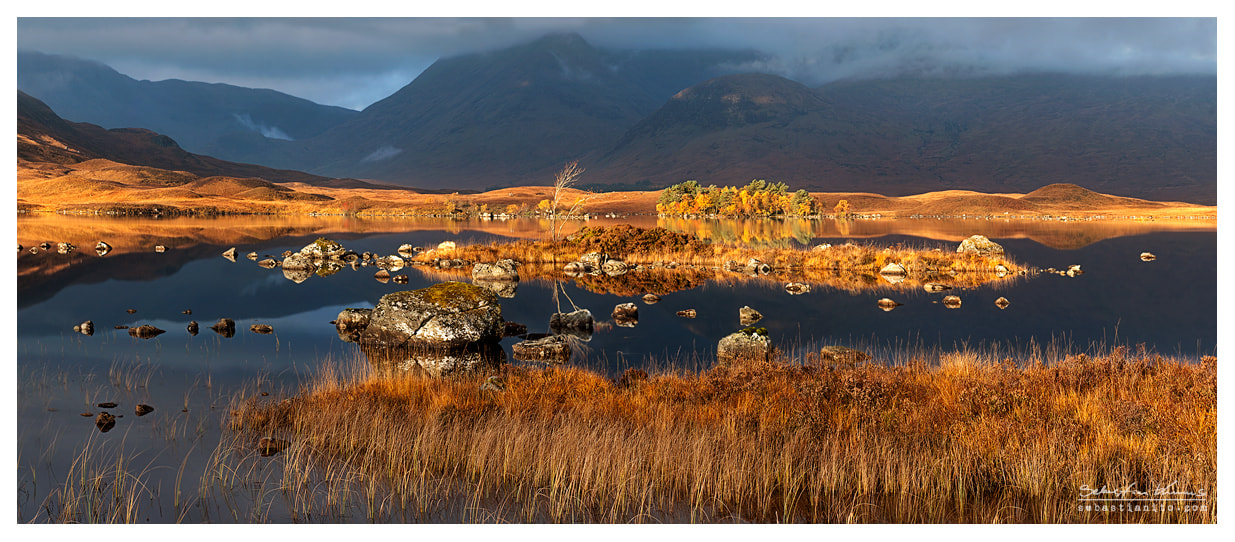 Photograph  Lochan na h-Achlaise - Panorama by Sebastian Kraus on 500px