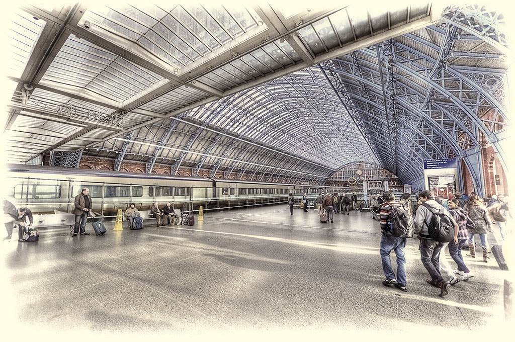 Photograph Olympic St Pancras by Jack Torcello on 500px