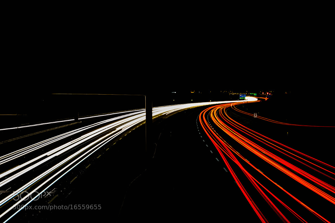 Photograph FREEWAY OF LIGHT by Simon Lau on 500px