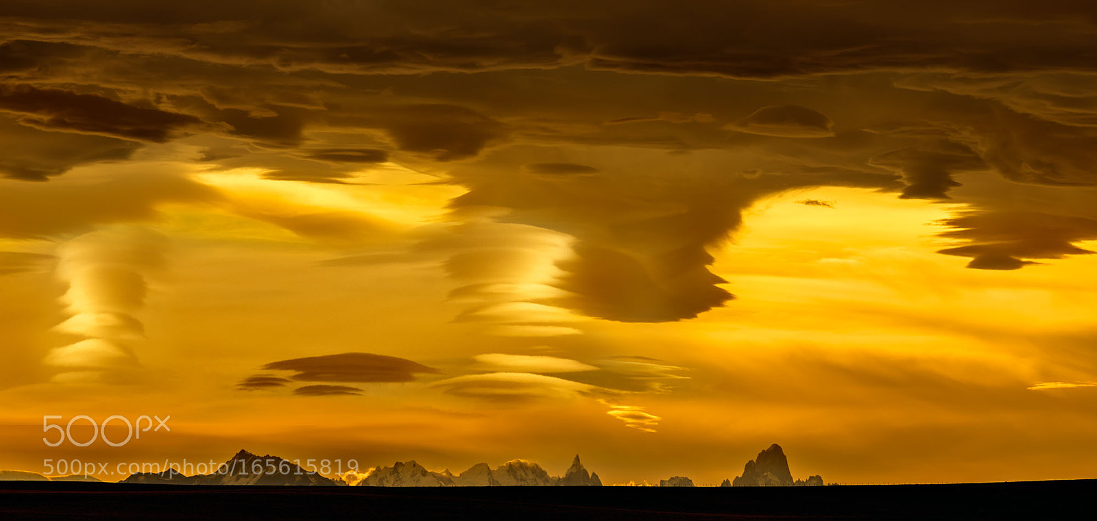GOLDEN CLOUDS, PATAGONIA, RICOH PENTAX 645Z, smc PENTAX-FA* 645 300mm F4 ED [IF]