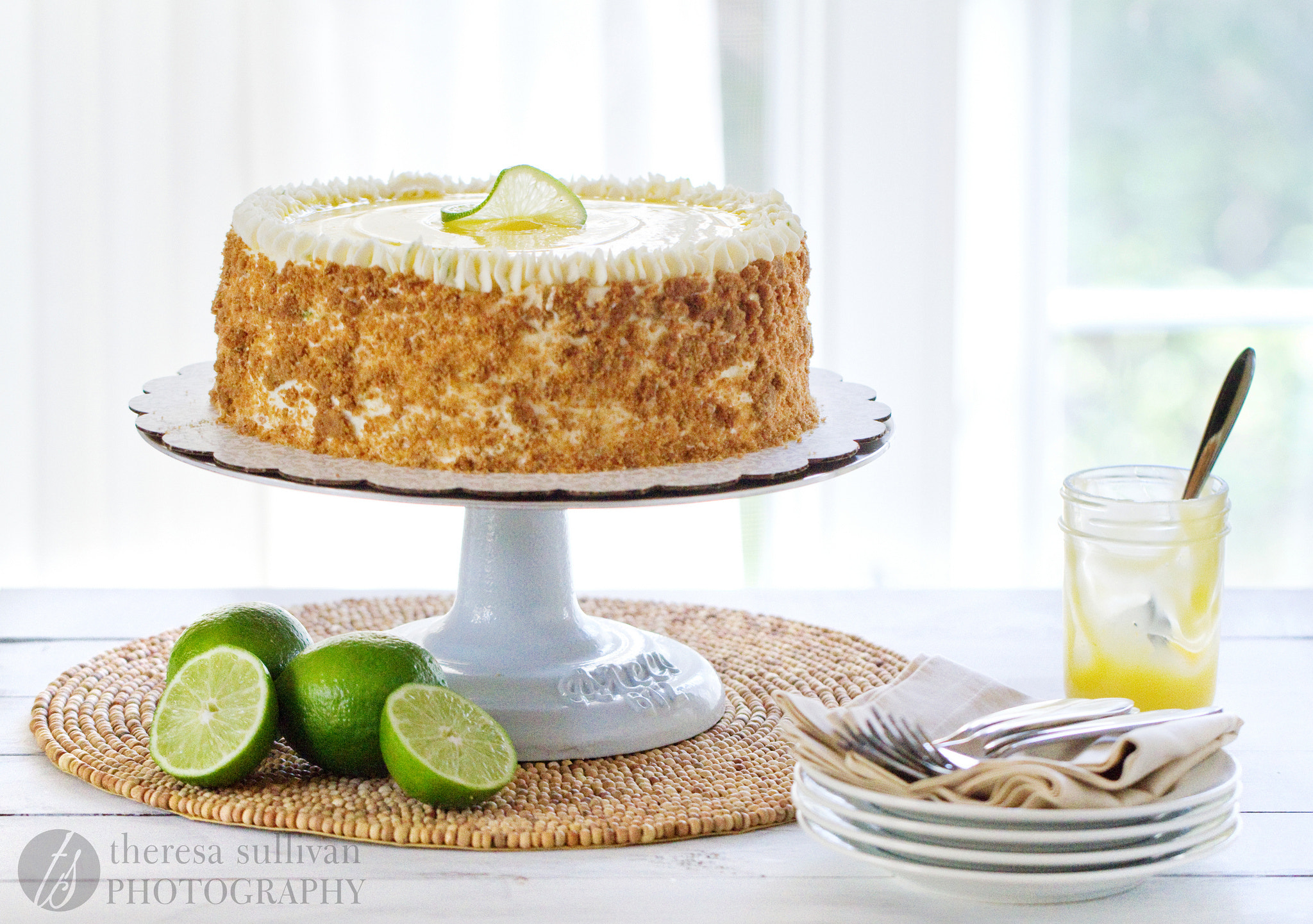 Photograph Key Lime Pie Cake by Theresa Sullivan on 500px