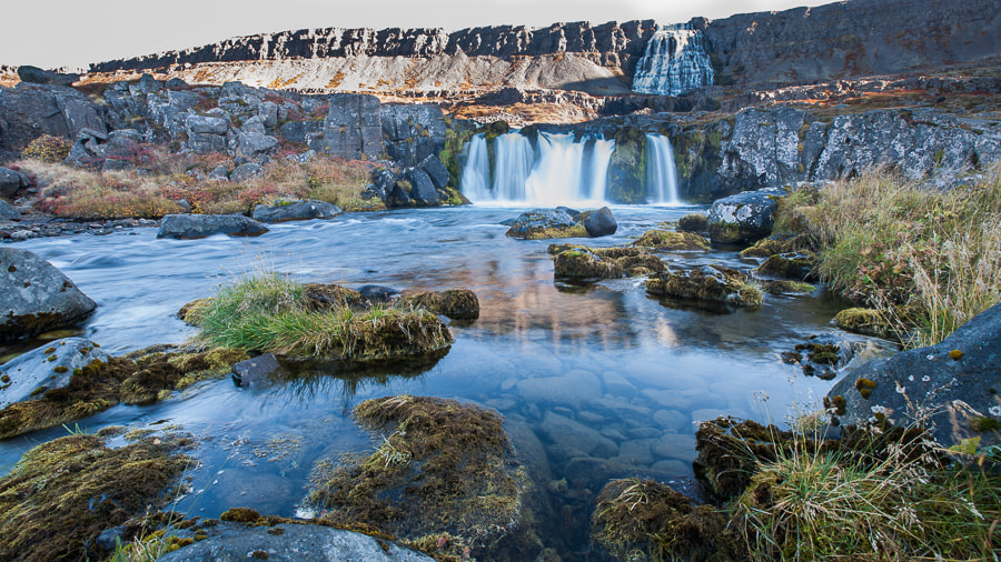 Photograph water fall in iceland by Jean-Charles Montestier on 500px