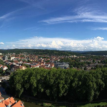 Panorama Steeple of Stiftskirche
