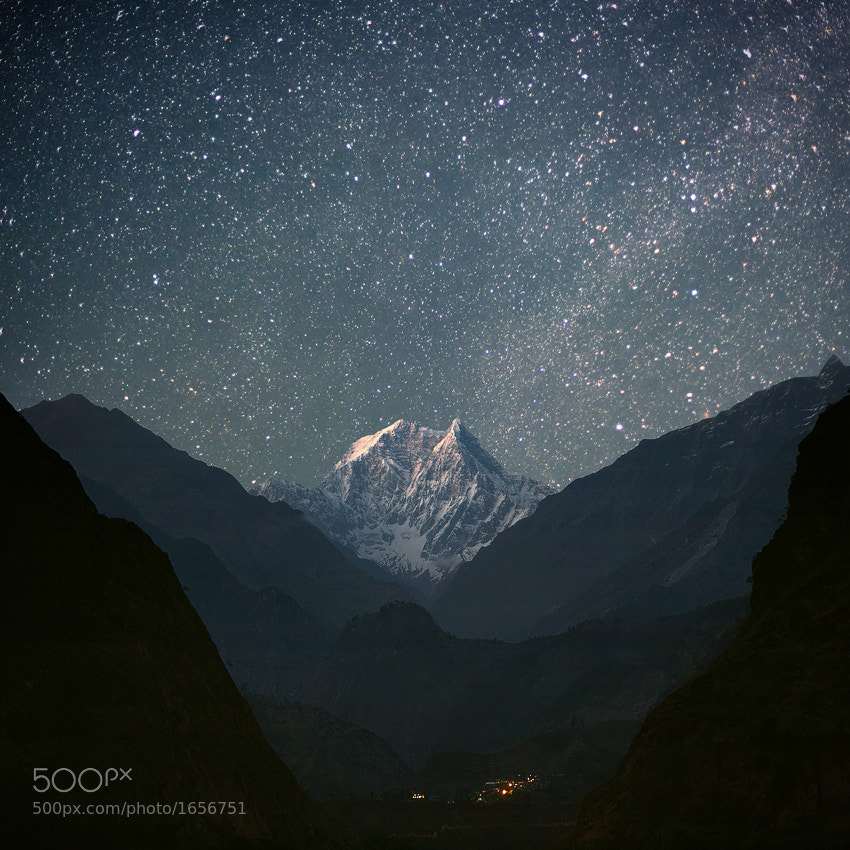 Photograph NILGIRI SOUTH (6,839 m) by Anton Jankovoy on 500px