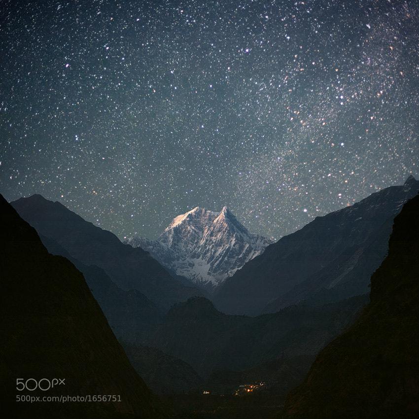 Night photo of nilgiri south