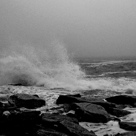 Ocean Point B&W, Panasonic DMC-LZ3