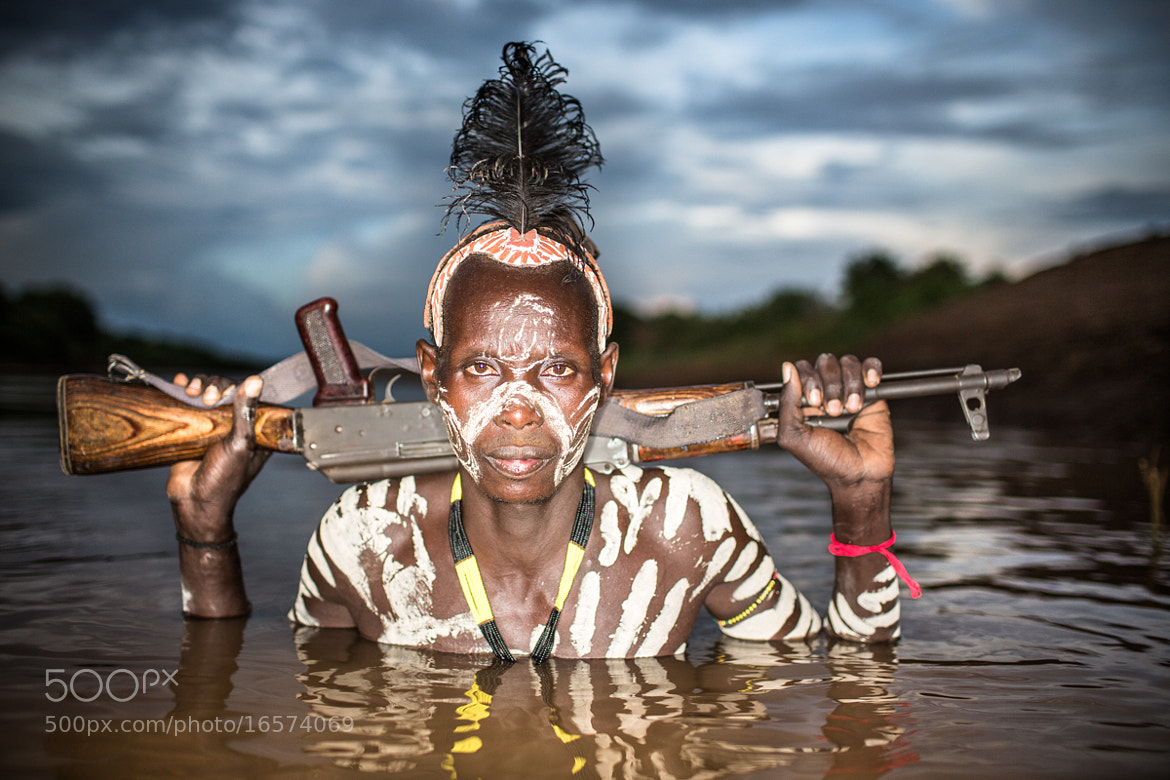 Photograph Soldier from Karo Tribe Ethiopia by OZZO Photography on 500px