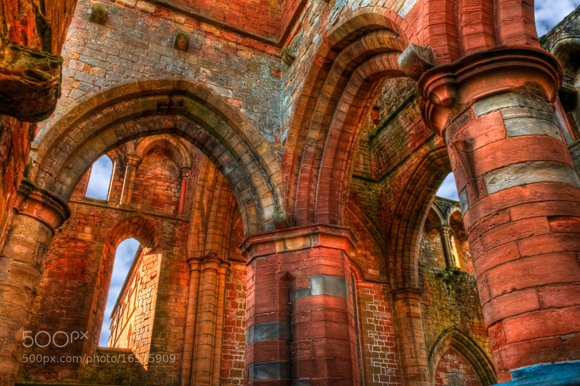 Photograph Arches of Lanercost Priory, Cumbria by Derek Finch on 500px