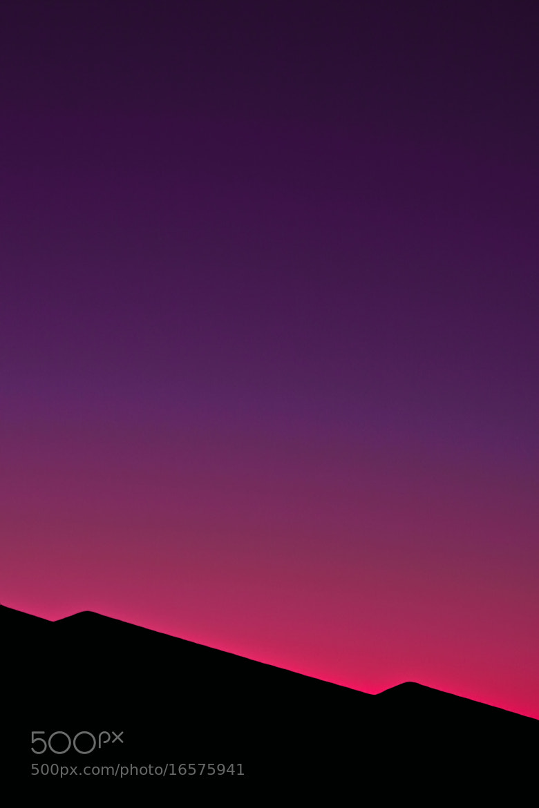 Photograph Abstract Roof at Sunset by Derek Σωκράτης Finch on 500px
