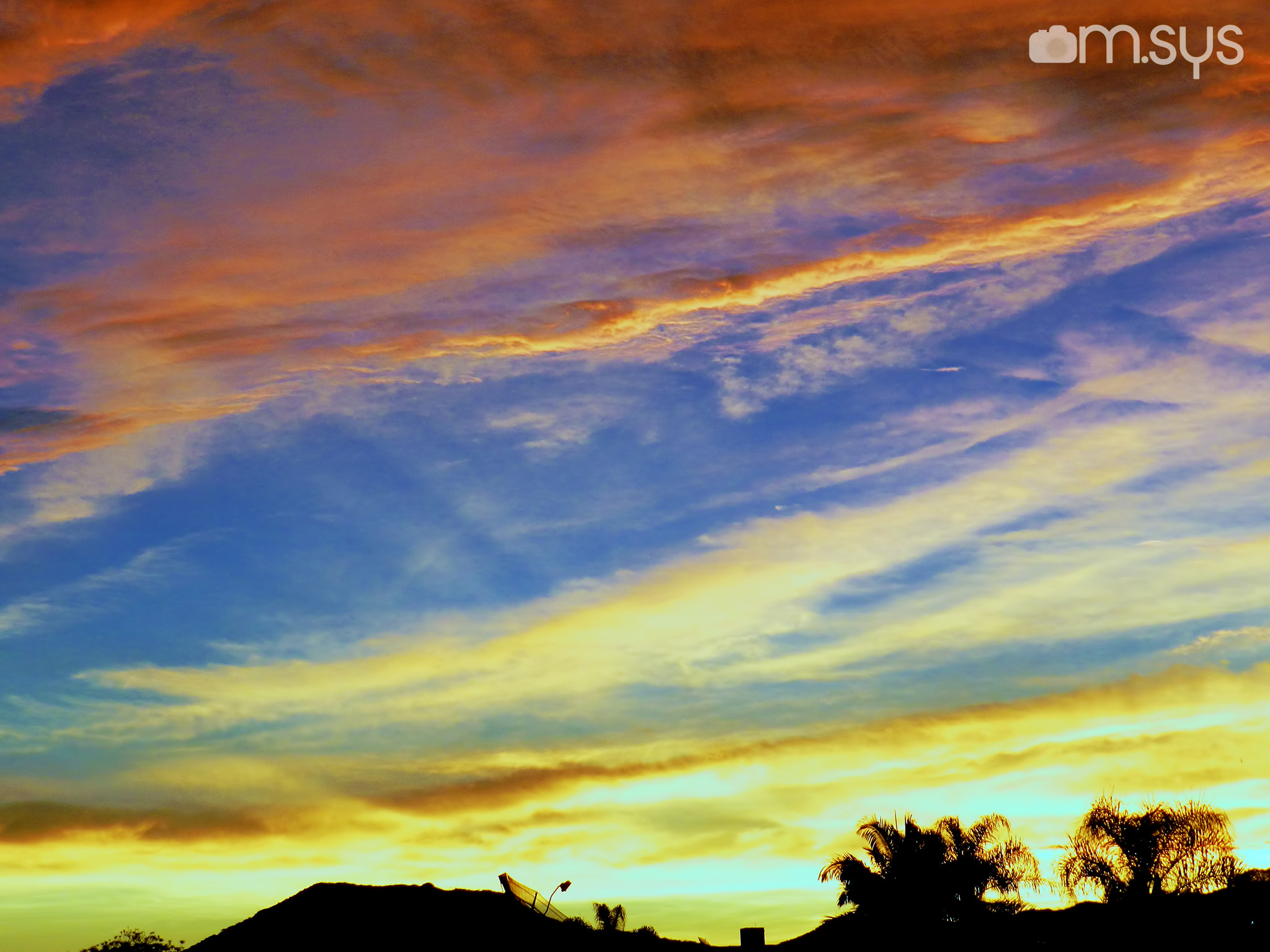 Photograph Sunset Sky in Itapema by Mauro Clemente on 500px