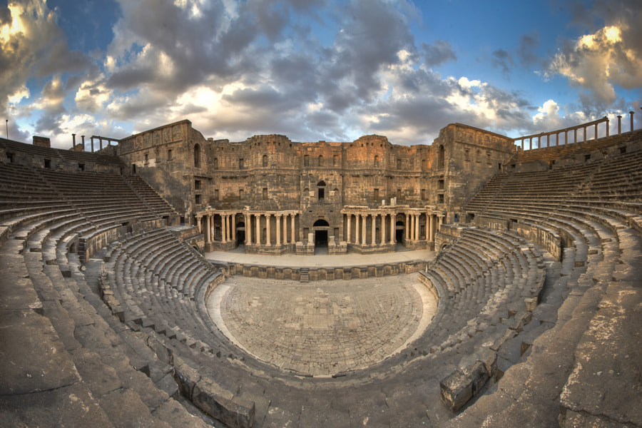 Photograph Amphitheater of History by Fouad Otaki on 500px