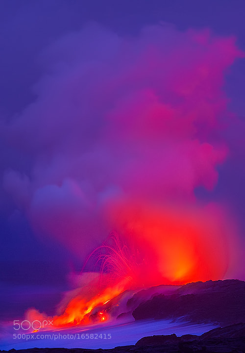 Photograph Hawaii Volcano by Kevin McNeal on 500px