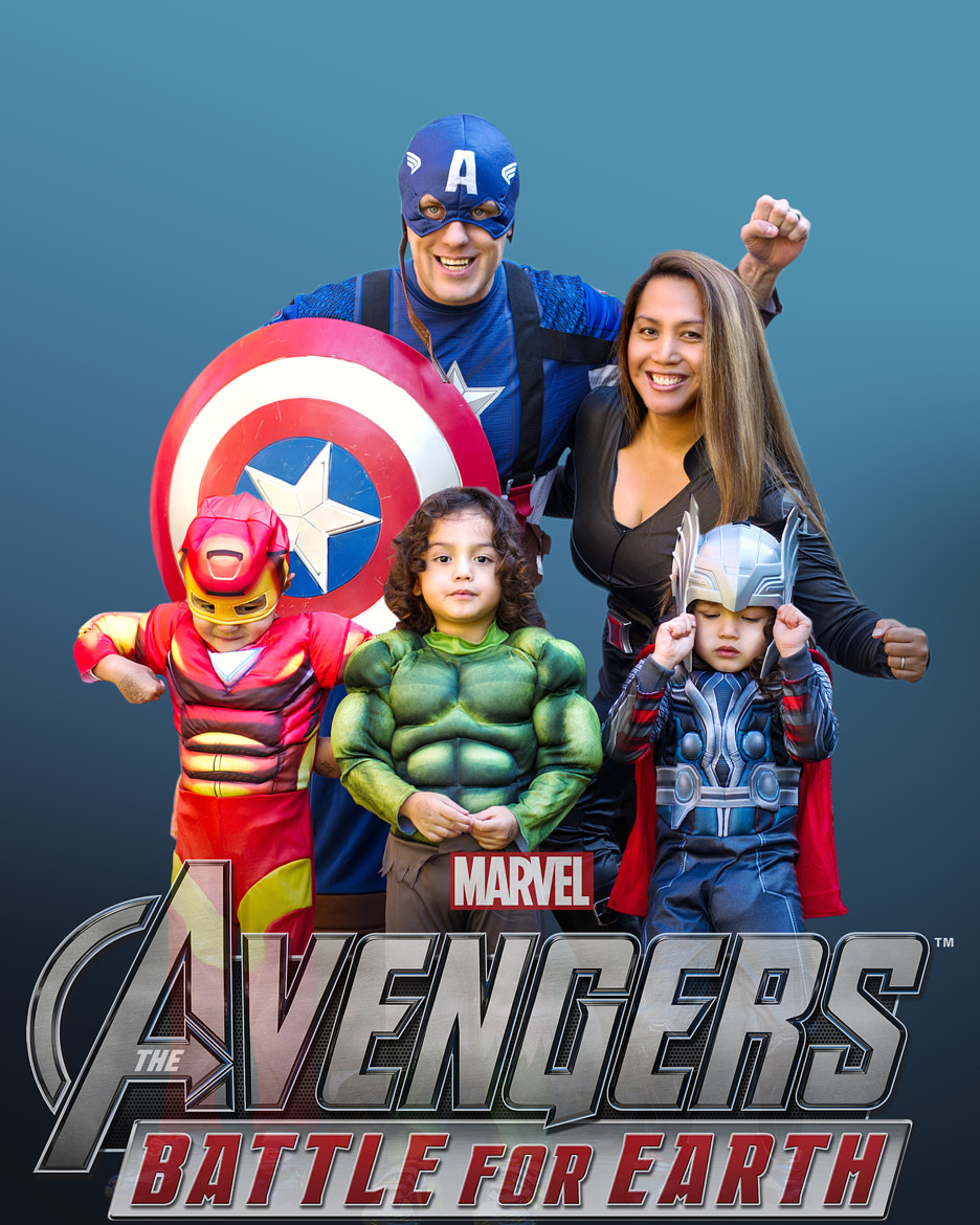 Photograph The Avengers by Monica J  Catral on 500px