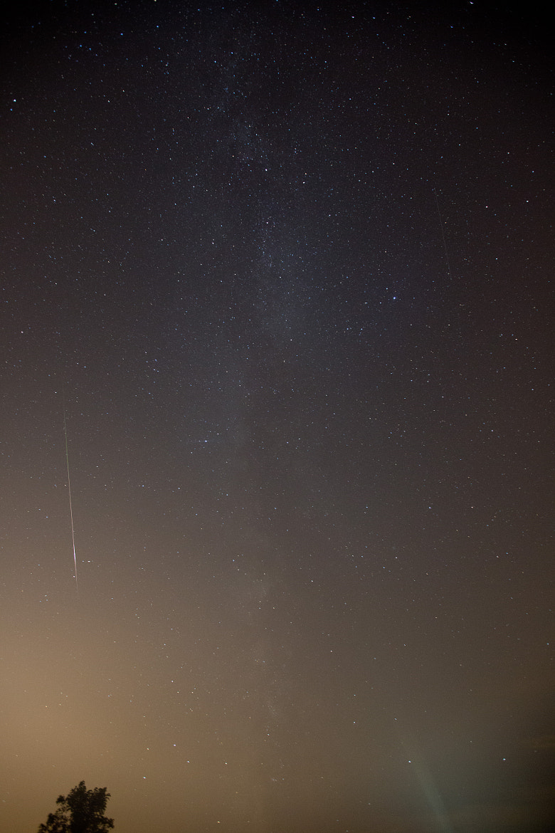 Photograph Shooting Meteor by C. Feggestad on 500px