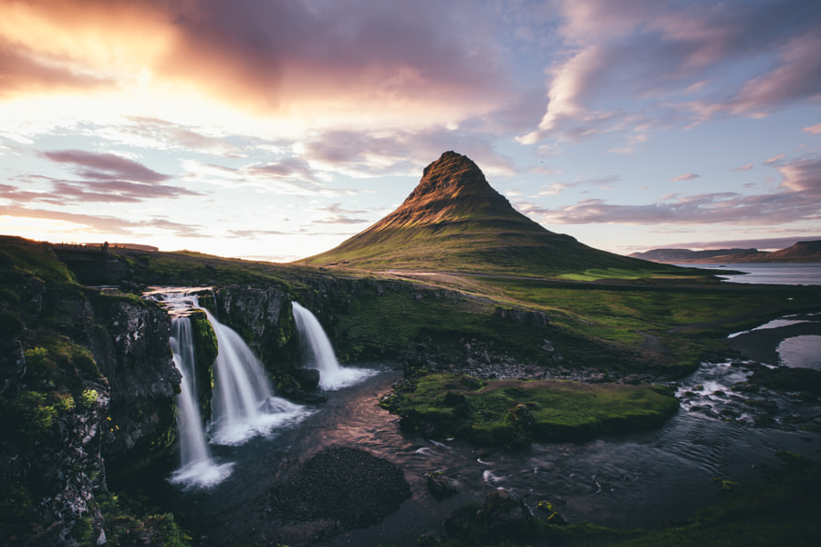 Sunset At Kirkjufell by Dylan Furst on 500px.com