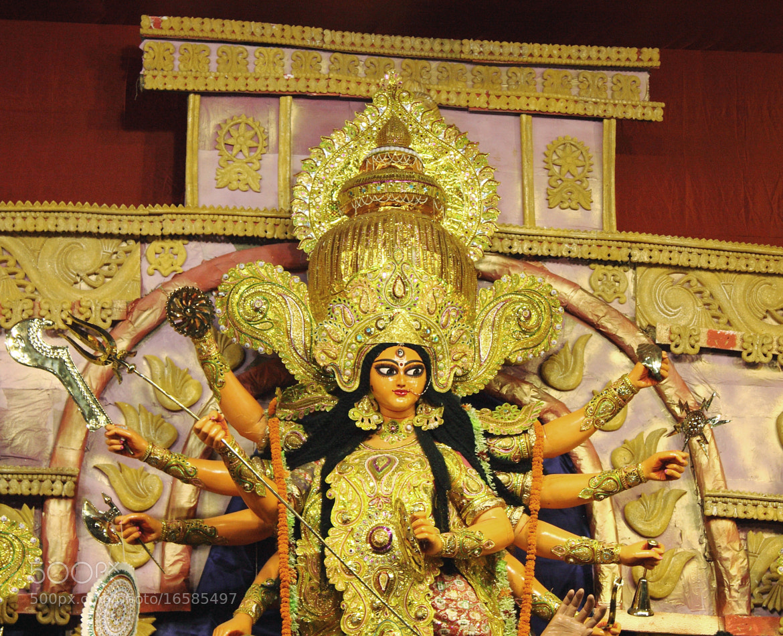 Photograph Debi Durga by Sudipta Mukhopadhyay on 500px