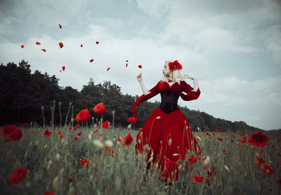 Drown in red de Maryna Khomenko sur 500px.com