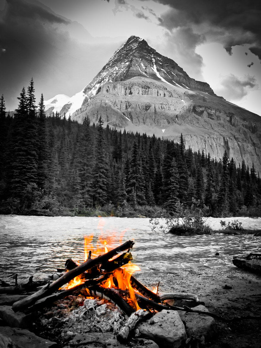 Photograph Fire above Emperor Falls by Kurt Stenberg on 500px