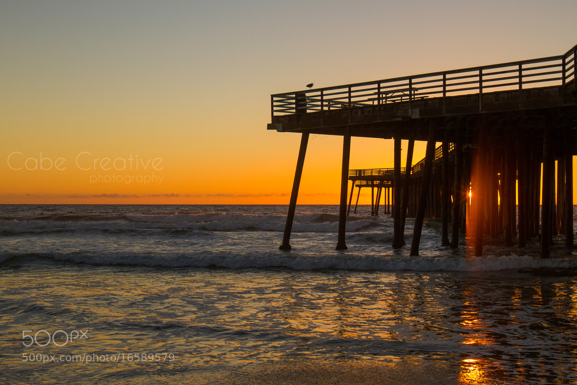 Photograph Pismo Beach pier by Cabe Creative on 500px