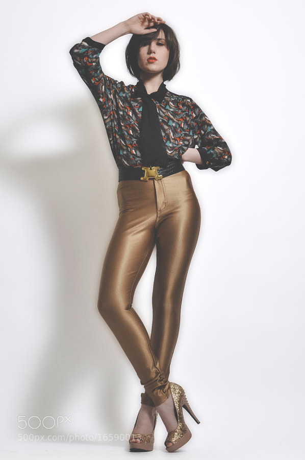 Gold Tights