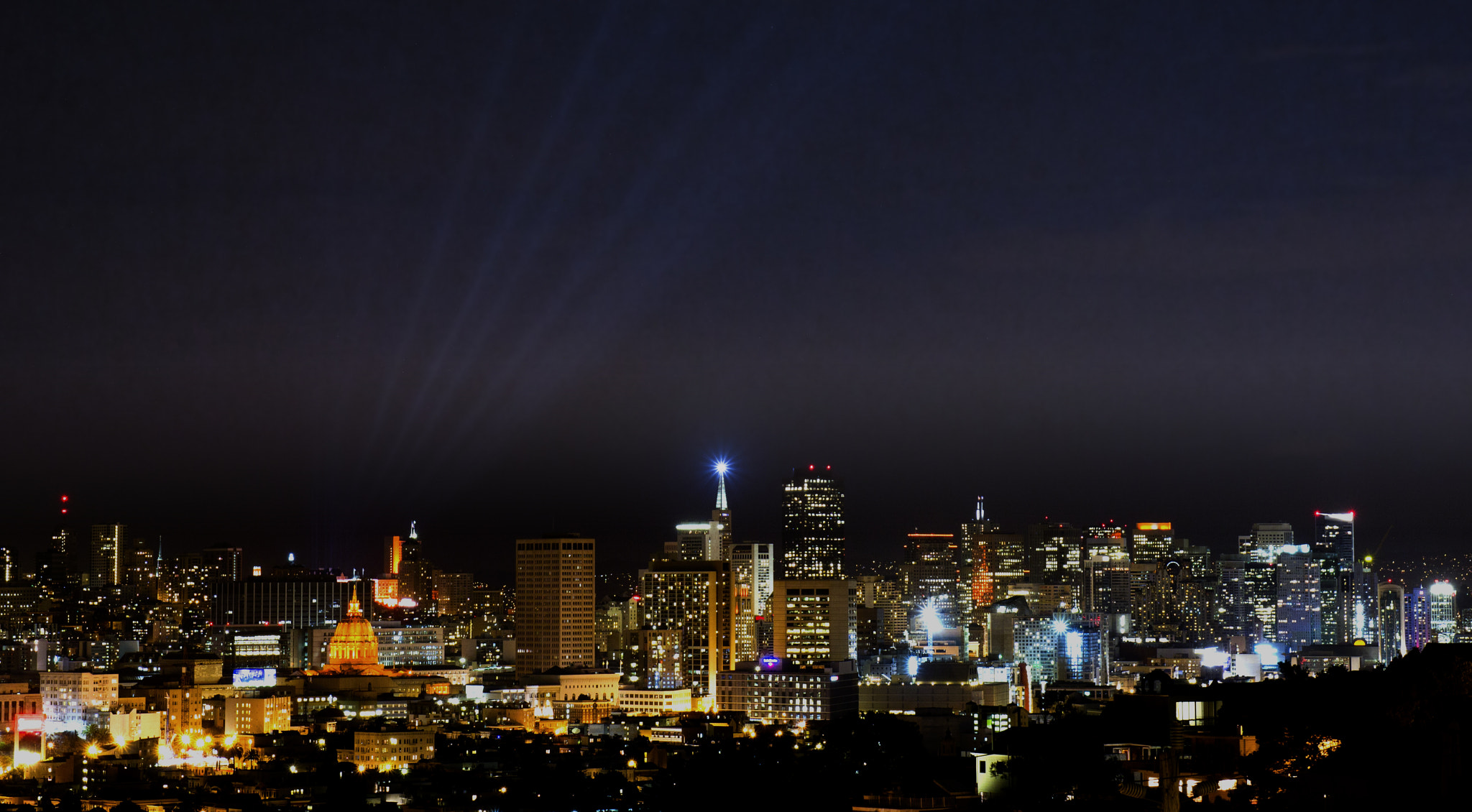 Photograph San Francisco Skyline during Orange October by Miguel Rios on 500px