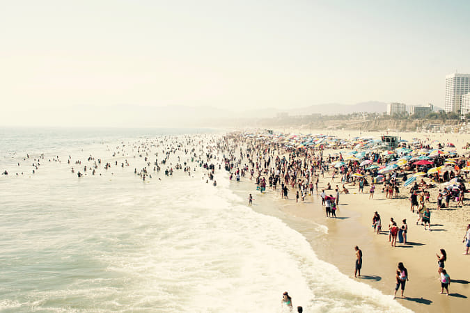 Santa Monica Beach by Heather Balmain on 500px