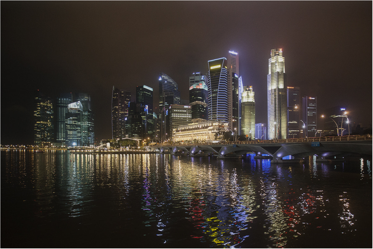 Photograph Drizzle over Singapore by Boris Gurevich on 500px