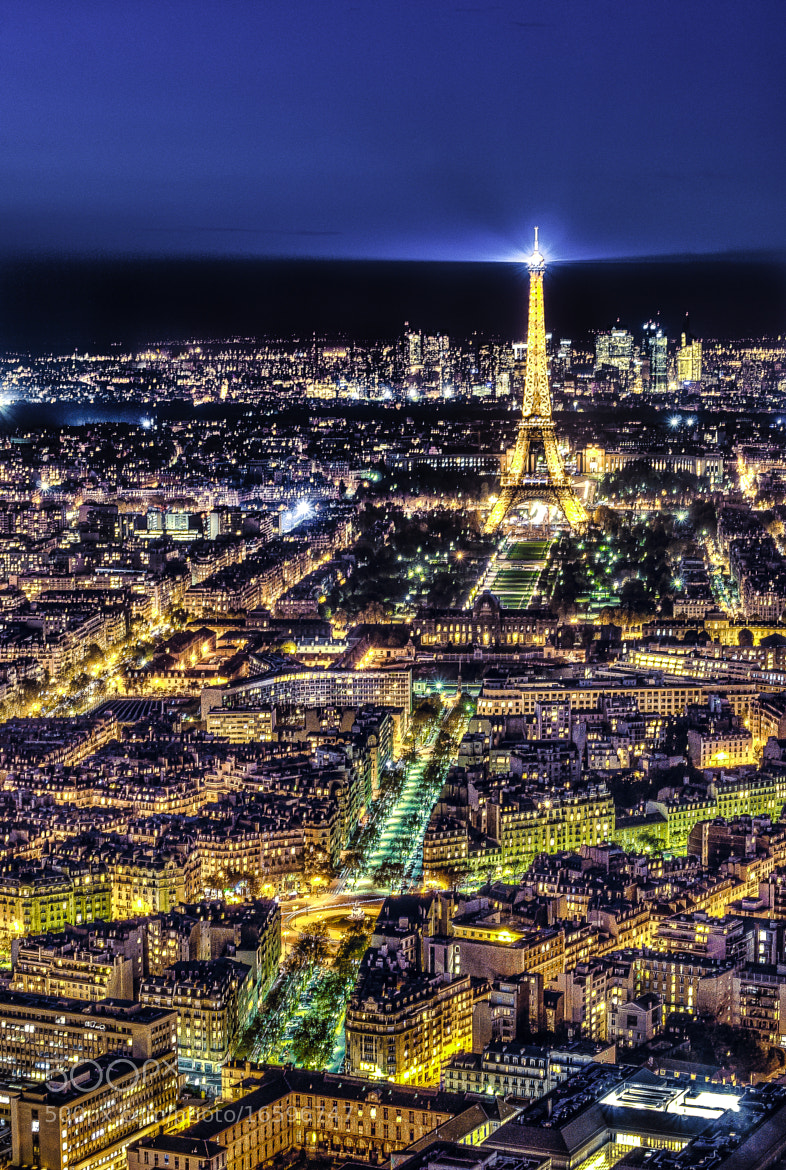Photograph Paris by night by Jürgen GOLDHORN aka MKZ One-Shoot on 500px