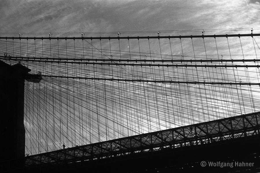 Photograph Bridge, New York by Wolfgang Hahner on 500px