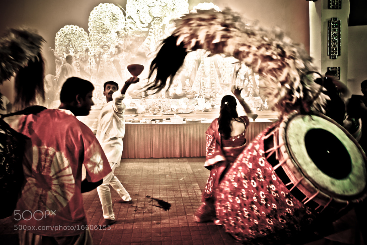 Photograph The Dhunachi dance by ARITRA SEN on 500px