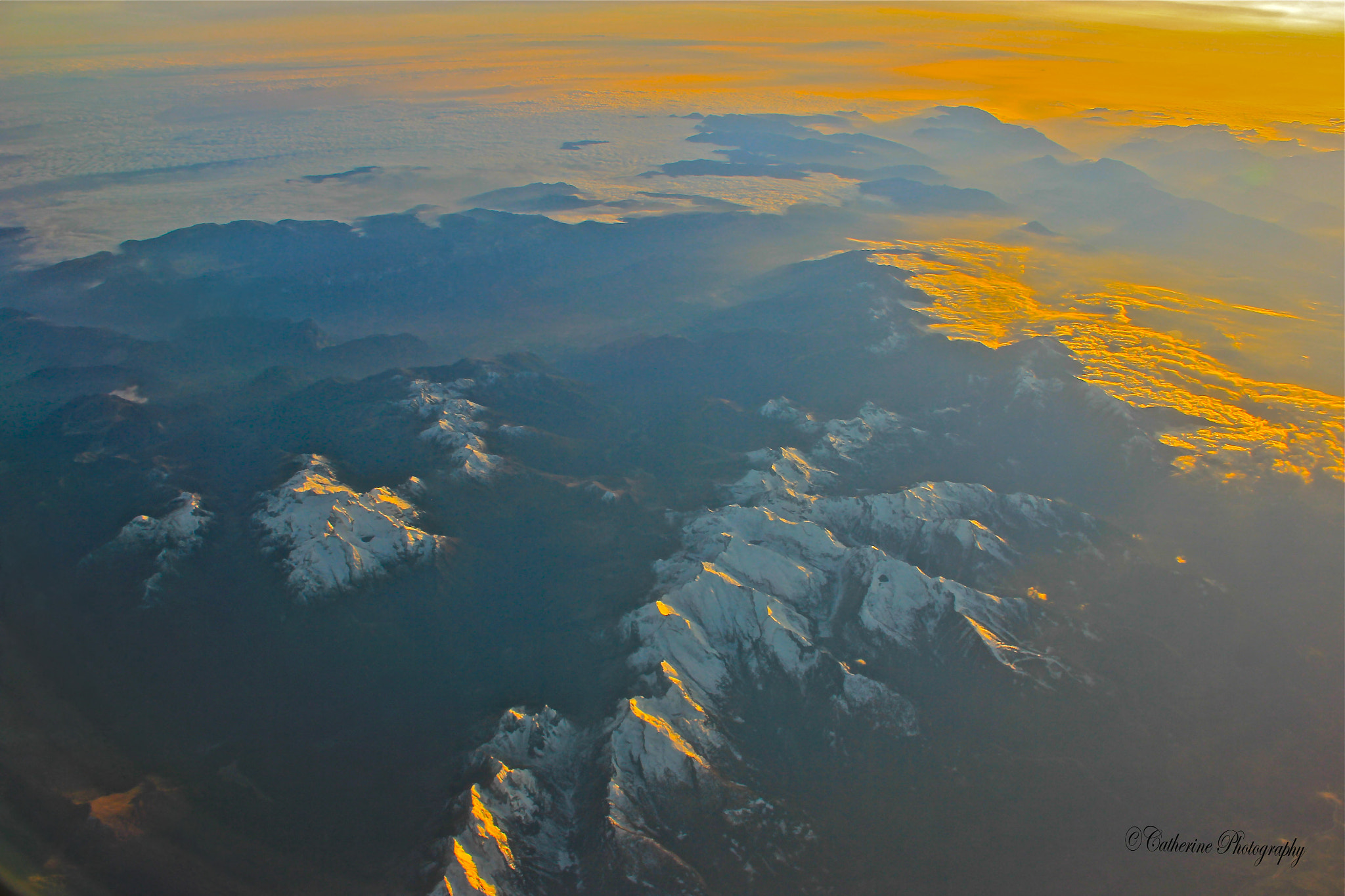 Photograph Golden Alps by Poh Huay Suen on 500px