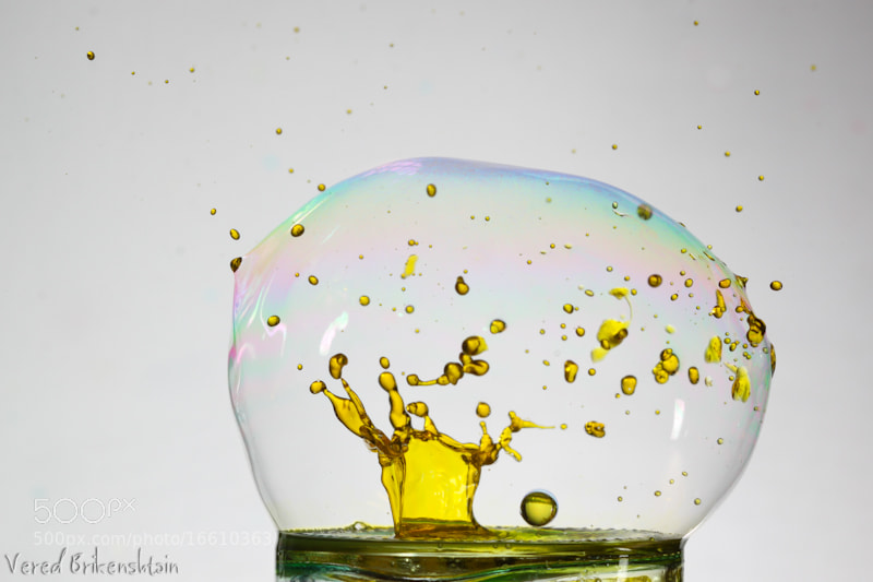 Photograph Inside a bubble 7 by Vered Brikenshtain on 500px