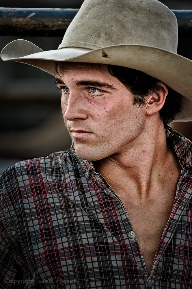 Photograph The bull rider's stare by Jeff Revell on 500px