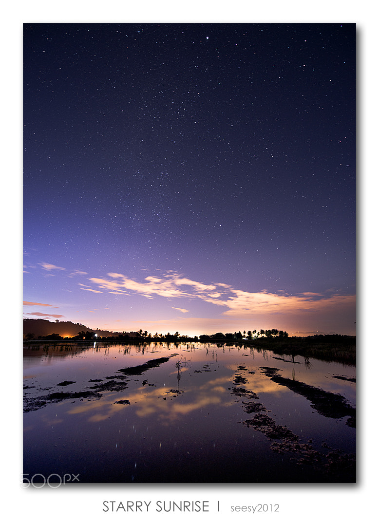 Photograph Starry sunrise by Lee Seesy on 500px