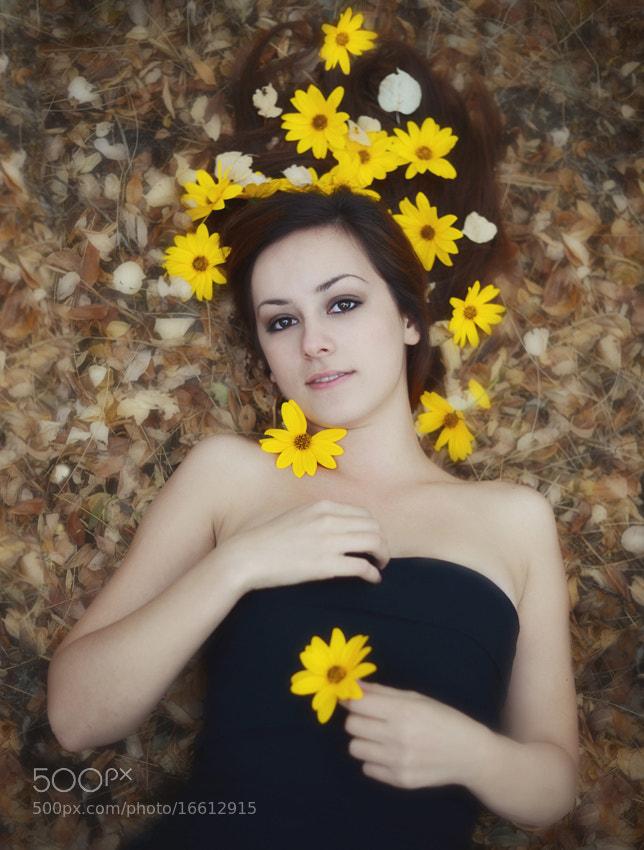 Photograph Autumn girl by Maria Churkina on 500px