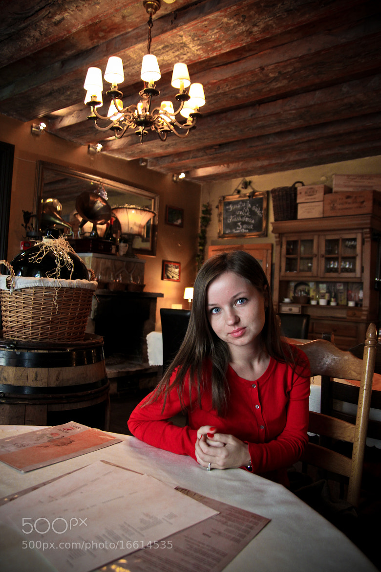 Photograph Girl in cafe by Alexander  Sinyavin on 500px