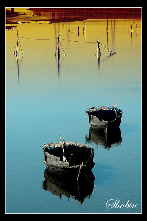 Photograph Boats by Shobin George on 500px