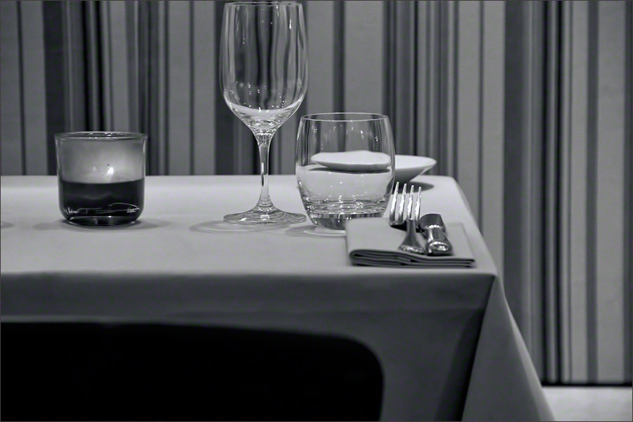 Photograph Table Setting, Cigalon b&w by Andrew Barrow LRPS on 500px