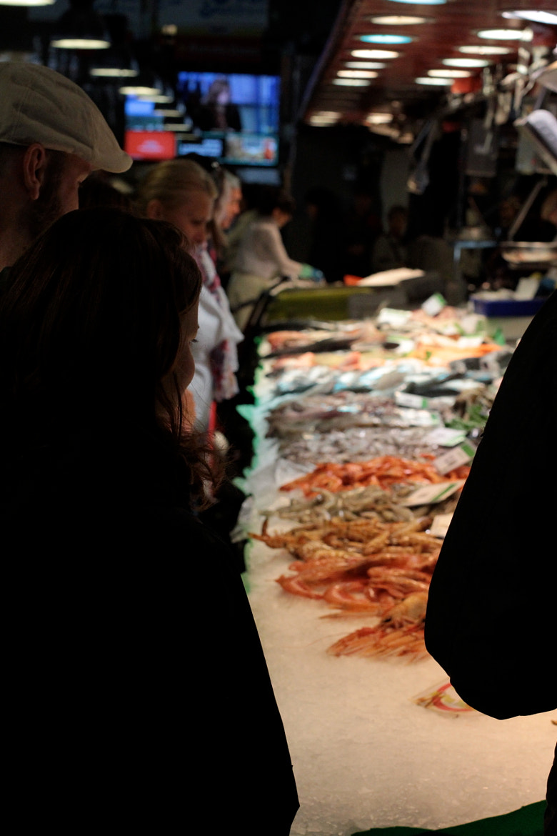 Photograph La Boqueria Seafood by Andrew Rifflard on 500px
